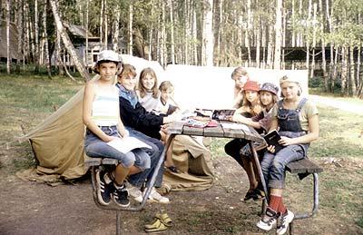 христианские сценки для детей в лагере